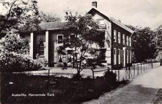 Ansichtkaart Austerlitz Hervormde Kerk Zeist HC9215