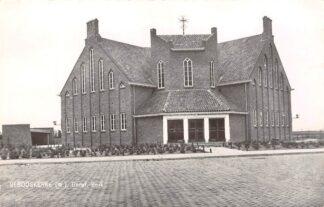 Ansichtkaart Serooskerke (W) Gereformeerde Kerk 1964 HC9223