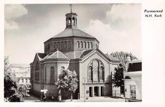 Ansichtkaart Purmerend Ned. Hervormde Kerk 1955 HC9228