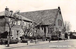 Ansichtkaart Stavenisse Oud Gereformeerde Kerk 1968 HC9229
