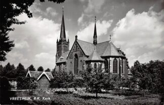 Ansichtkaart Vreeswijk R.K. Kerk 1960 HC9240