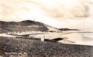 Ansichtkaart Camperduin aan Zee Duinen en strand 1957 HC9256
