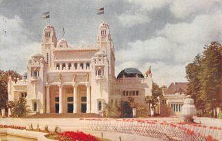 Ansichtkaart België Antwerpen Officieele postkaart Wereldtentoonstelling 1930 met speciaal stempel Filatelie Le Palais de Congo  HC9263
