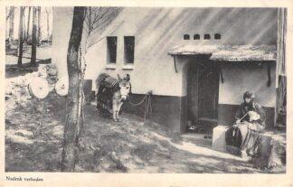 Ansichtkaart Heilig Landstichting Nazareth Fellahwoning met ezel Nijmegen HC9267