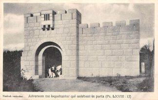 Ansichtkaart Heilig Landstichting Jerusalem, stadsmuur en poort Nijmegen HC9268
