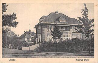 Ansichtkaart Gouda Nieuwe Park met Villa Elisabeth en Villa Honk HC9274