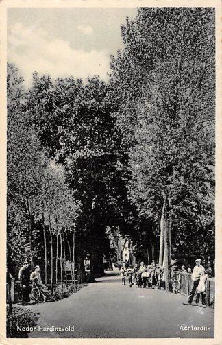 Ansichtkaart Neder-Hardinxveld Achterdijk 1944 Hardinxveld - Giessendam HC9300