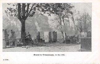Ansichtkaart Vriezenveen Brand 16 mei 1905 HC9337