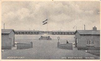 Ansichtkaart Volkel Kazerne Hoofdpoort Afd. Mariniers Militair 1951 HC9340