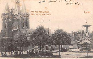 Ansichtkaart Zwolle Wal van Nahuysplein 1902 HC9345