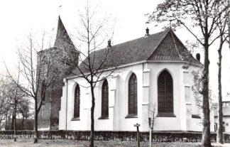 Ansichtkaart Oosterhesselen Drenthe Coevorden Ned. Hervormde Kerk 1966 HC9365