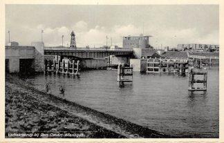 Ansichtkaart Wieringen Den Oever 1932 Verkeersbrug Afsluitdijk IJsselmeer Friesland Flevoland HC9372