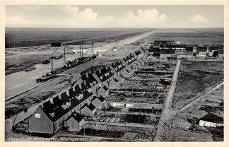 Ansichtkaart Wieringen 1932 Havenstraat Middenmeer Wieringermeerpolder Afsluitdijk IJsselmeer Friesland Flevoland HC9373
