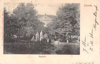 Ansichtkaart Zwolle Sociëteit 1903  HC9402