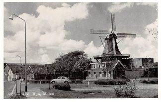 Ansichtkaart Alphen aan den Rijn Molen met VW Auto HC9405
