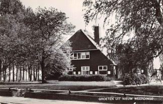 Ansichtkaart Nieuw Weerdinge Groeten uit 1971 Emmen Drenthe HC9450