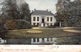 Ansichtkaart Haren Huize Hemmen 1904 HC9549