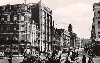 Ansichtkaart Rotterdam Botersloot 1940 Cafe Auto HC9563