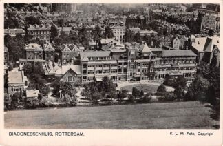 Ansichtkaart Rotterdam Diaconessenhuis KLM luchtfoto HC9569