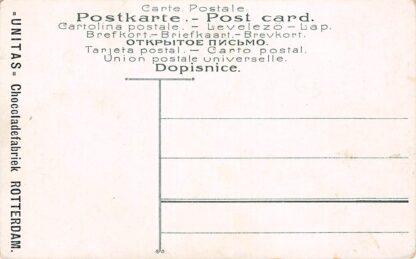 Ansichtkaart Rotterdam Reclame Unitas Chocolade Fabriek HC9570