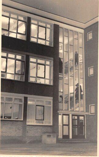 Ansichtkaart Gouda Groenendaal Achterzijde Groen van Prinsterer School Fotokaart HC9575