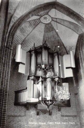 Ansichtkaart Zeerijp Orgel Ned. Hervormde Kerk 1966 Loppersum HC9595