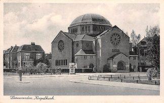 Ansichtkaart Leeuwarden Gereformeerde Koepel kerk 1942 HC9609