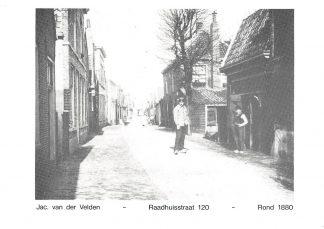 Ansichtkaart Alphen aan den Rijn Reclame Verwarming-witgoed Jac. van der Velden Raadhuisstraat HC9619