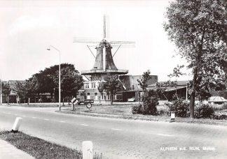 Ansichtkaart Alphen aan den Rijn Molen 1973 HC9626
