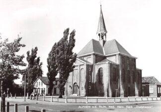 Ansichtkaart Alphen aan den Rijn Ned. Hervormde Kerk Oudshoorn 1973 HC9631