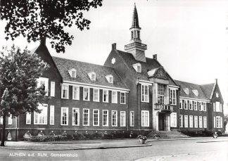 Ansichtkaart Alphen aan den Rijn Gemeentehuis 1968 HC9634