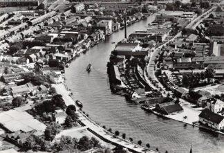 Ansichtkaart Alphen aan den Rijn Luchtfoto Rijngezicht HC9636