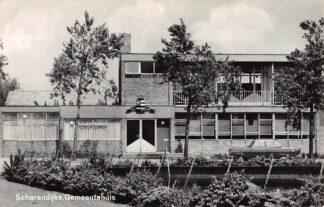 Ansichtkaart Scharendijke Gemeentehuis 1968 HC9650