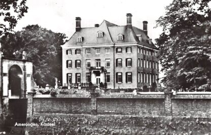 Ansichtkaart Amerongen Kasteel 1969 HC9651