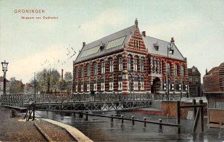 Ansichtkaart Groningen Museum van Oudheden 1905 HC9697