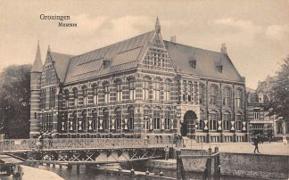 Ansichtkaart Groningen Museum HC9698