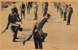 Ansichtkaart Militair Mobilisatie 1939 Boksprong vinden de jongens fijn En het is zeer goed voor de lijn Soldaten WO2 HC9754