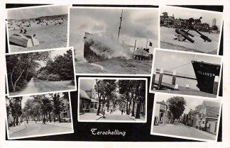 Ansichtkaart Terschelling 8-luik 1958 HC9793