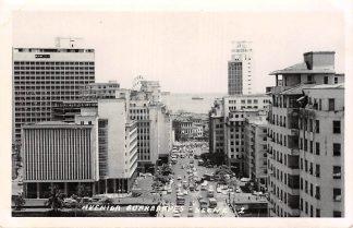 Ansichtkaart Brasil Brazilie Recife Avenida Guararapes Fotokaart Zuid-Amerika HC9799