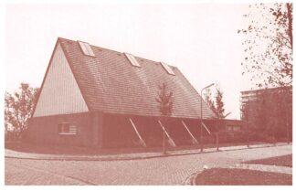 Ansichtkaart Krommenie De Leliekerk Nederlands Gereformeerde Kerk HC9812
