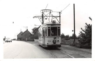 Ansichtkaart Duitsland Fotokaart Tram 24 324 Recklinghausen Polsum Marl-M Huis-M Sinsen Deutschland Europa HC9821