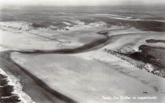 Ansichtkaart Texel De Slurfter in vogelvlucht 1960 KLM Luchtfoto no. 33049 HC9822