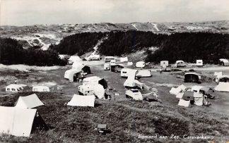Ansichtkaart Egmond aan Zee Caravankamp Camping 1962 HC9825
