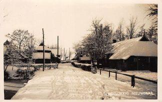 Ansichtkaart Onbekend Boerderij in de winter 1942 Type fotokaart HC9897