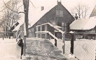Ansichtkaart Onbekend Winter Boerderij in de sneeuw Type fotokaart 1943 HC9898