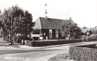 Ansichtkaart Oostvoorne Gereformeerde Kerk HC10042
