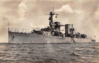 Ansichtkaart Den Helder Marine Sumatra Scheepvaart 1941 Schepen HC10048