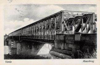 Ansichtkaart Venlo Maasbrug 1943 HC10049