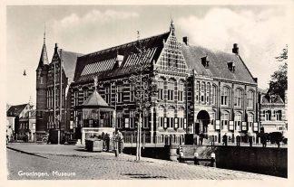 Ansichtkaart Groningen Museum 1955 HC10114