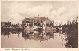 Ansichtkaart Groningen Paviljoen Stadspark 1937 HC10129
